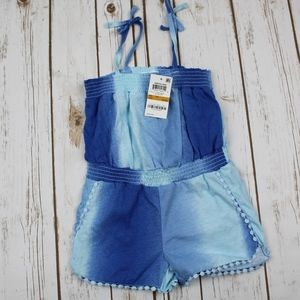 Epic Threads Toddler Girls Ombre Romper, Size 3T